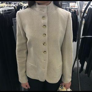 Ralph Lauren Wool Blend Tweed Blazer